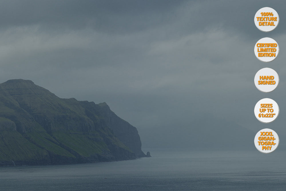 Mykines Island, Faroe Islands, North Atlantic. | 100% Magnification Texture Detail.