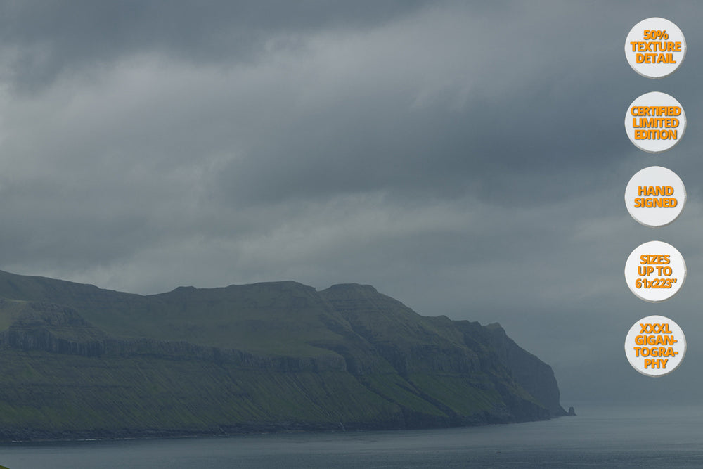 Mykines Island, Faroe Islands. | 100% View Texture Detail.