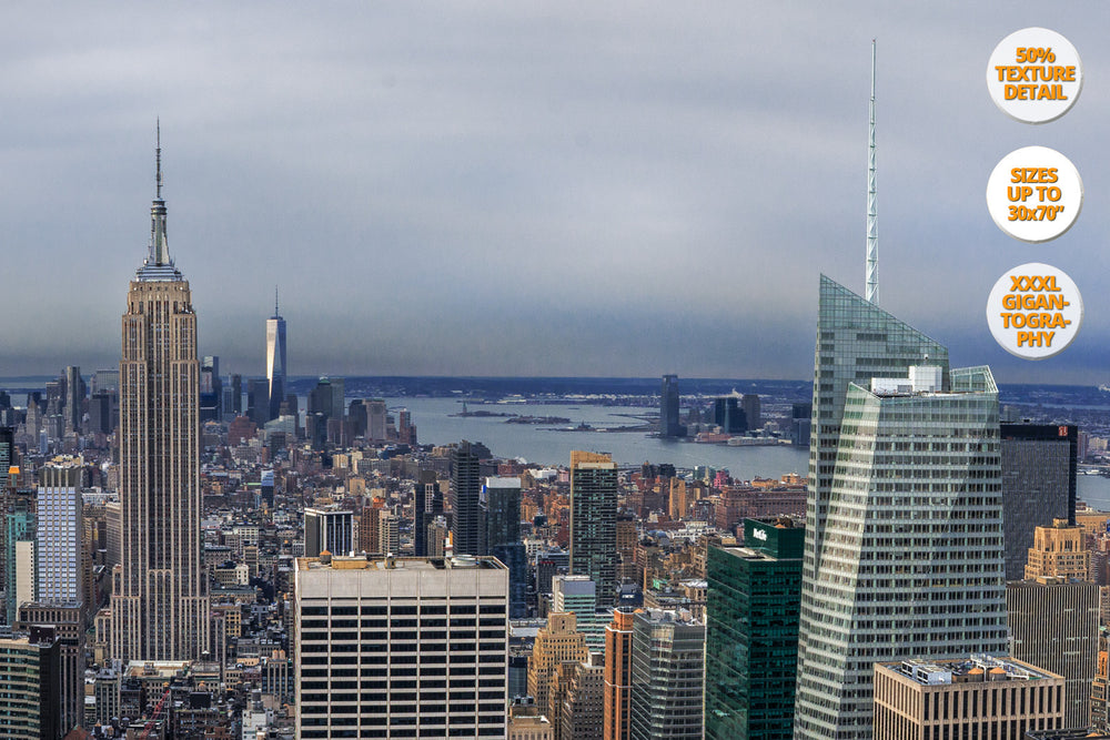 Empire State, Manhattan, New York. | 100% Detail.
