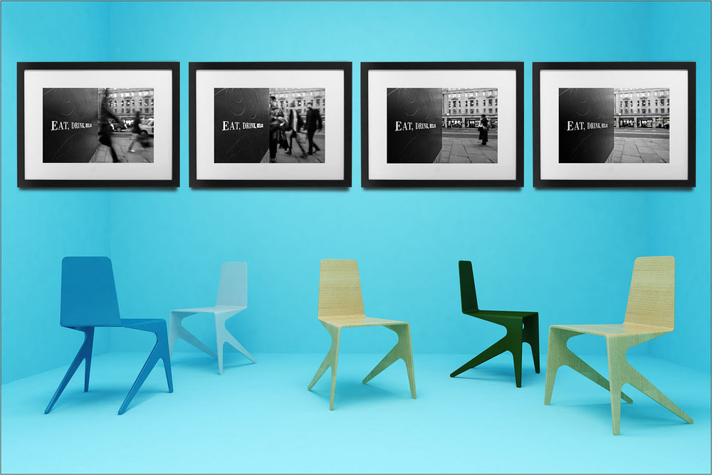 """Eat, Drink, Relax"", London, United Kingdom. 