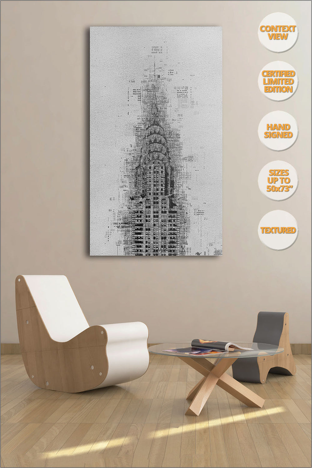 Chrysler Building, Manhattan, New York. | Collection Print.