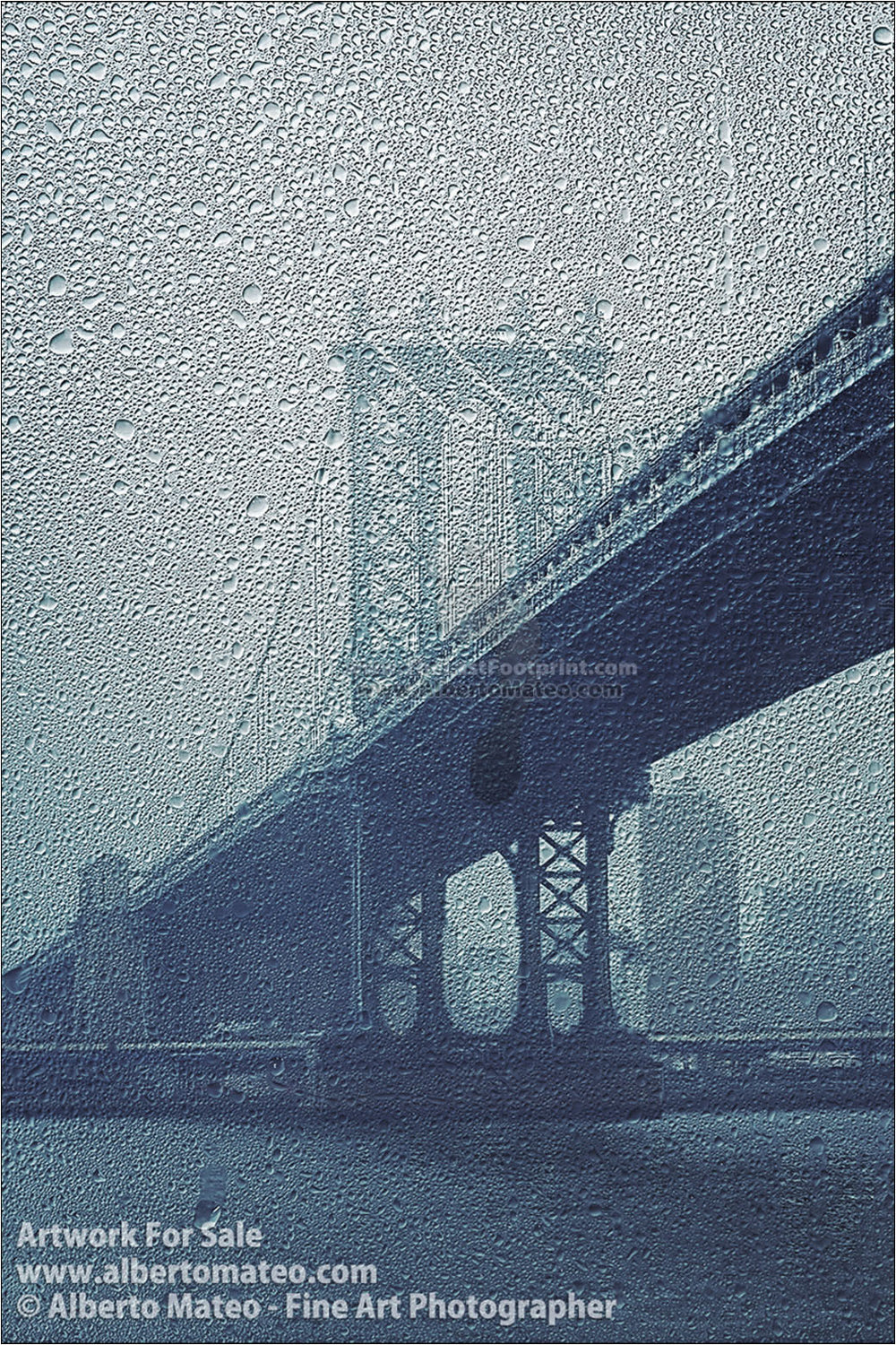 Manhattan Bridge Pillar, New York. | Limited Edition Print.