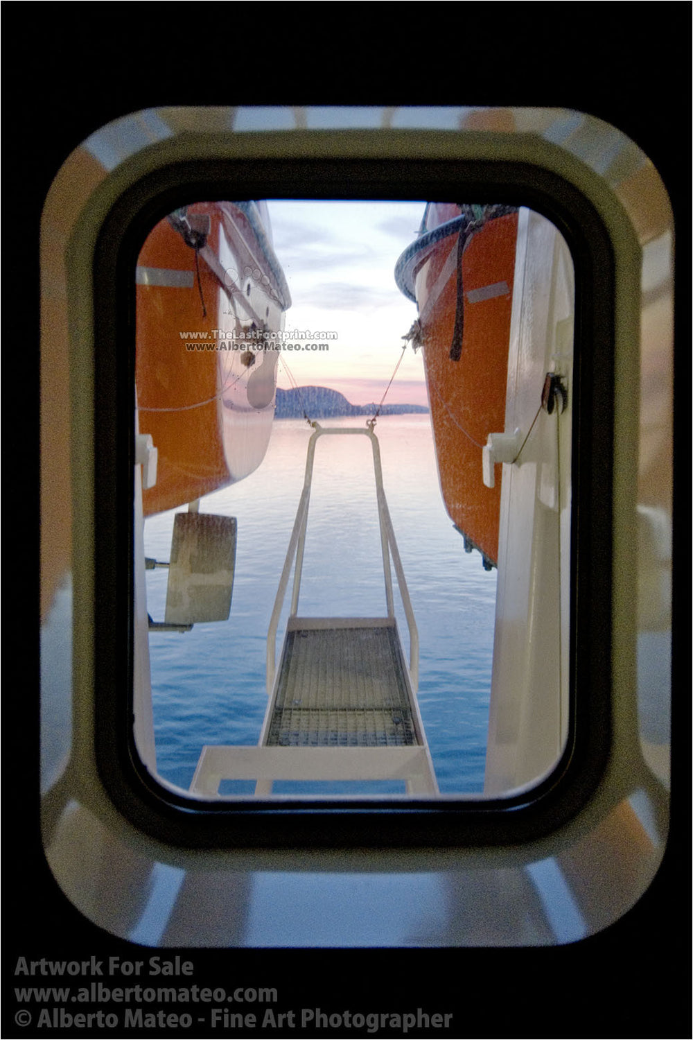 Hurtigruten Cruiser, Sunnmore, Norway. | Open Edition Fine Art Print.