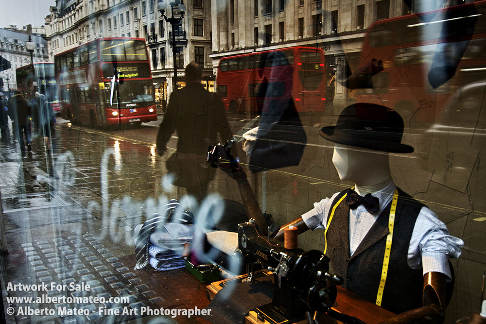 Reflections in the Regent Street, London. | Unlimited Edition Print.