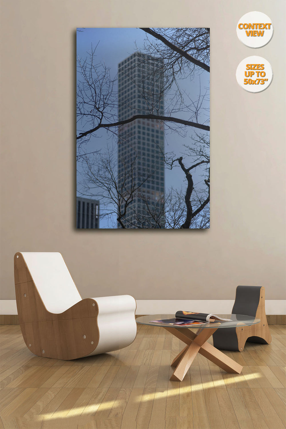 The Hive, Manhattan, New York. | Print hanged in meeting room.