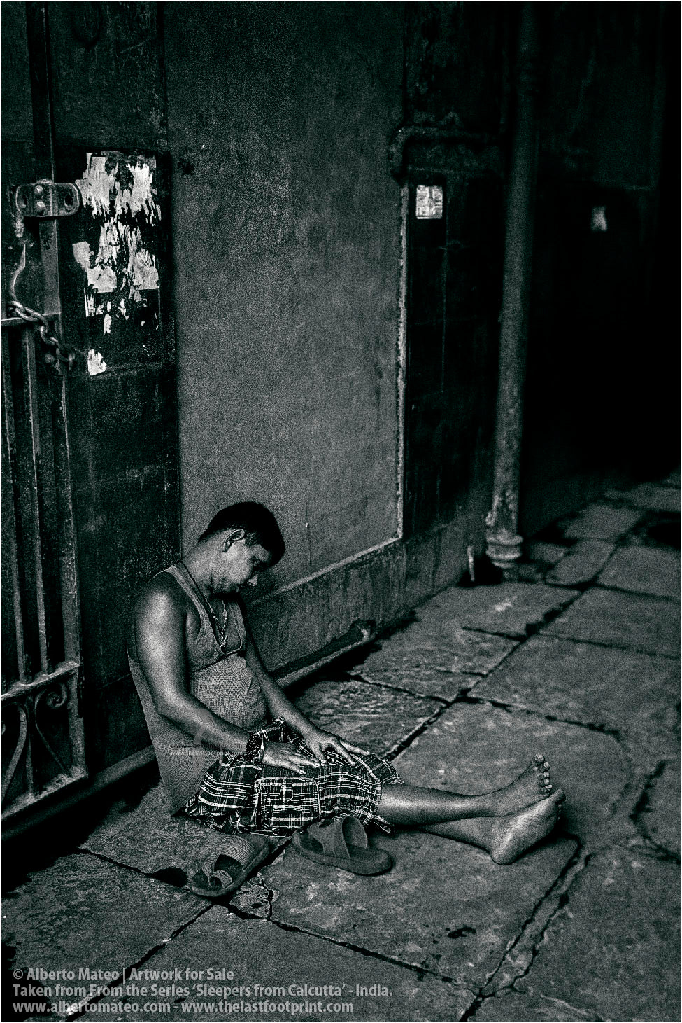 Sleepers from Kolkata - 14/20, Calcutta, India.
