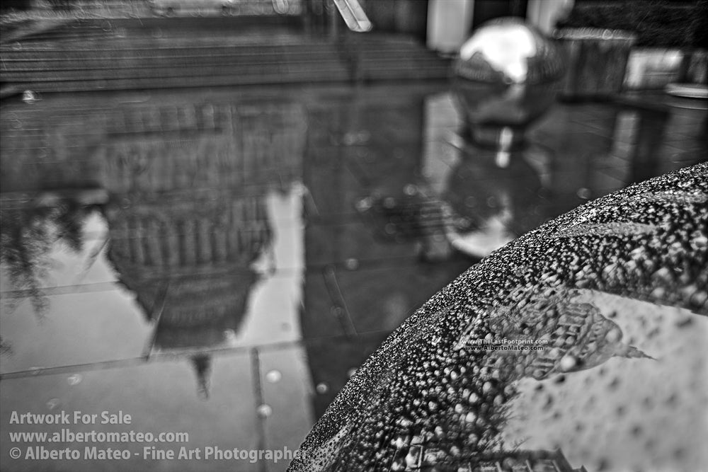 Reflections of Saint Paul, London, United Kingdom. | Black and White Fine Art Print.