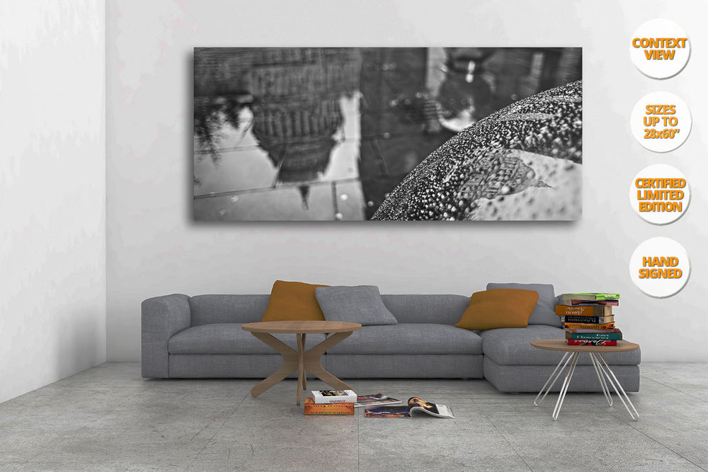 Saint Paul Cathedral, Holborn, London. | Panoramic Print hanged in living room.