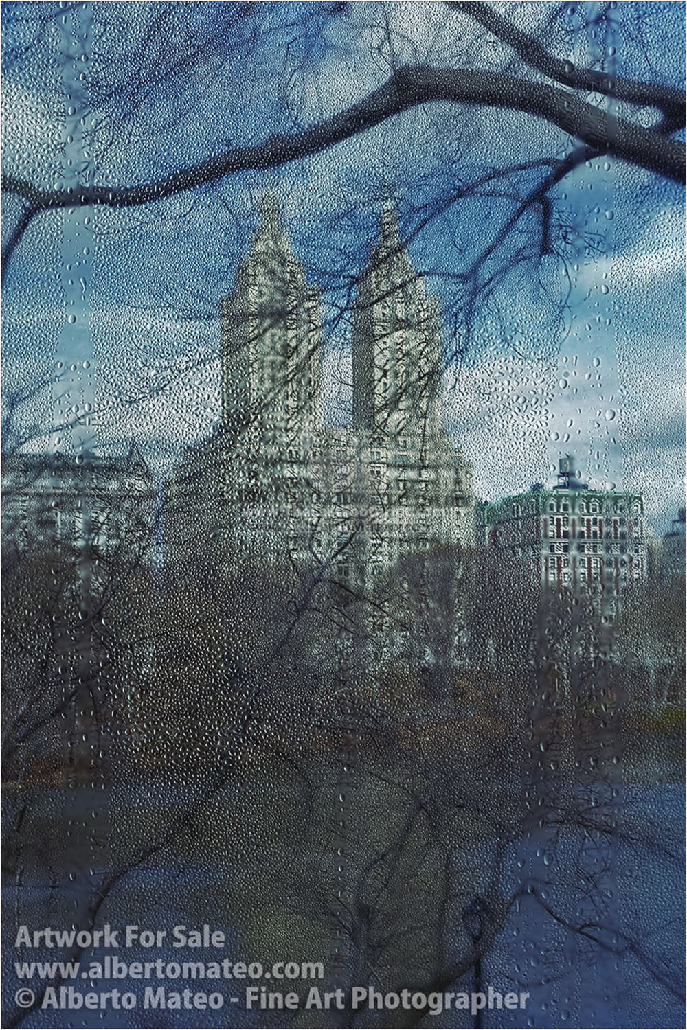 The San Remo in Winter, New York. | Limited Edition Fine Art Print.