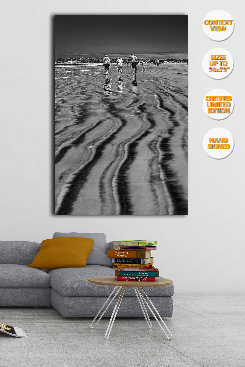 Coronado Beach, San Diego, California. | Hanged on living room.