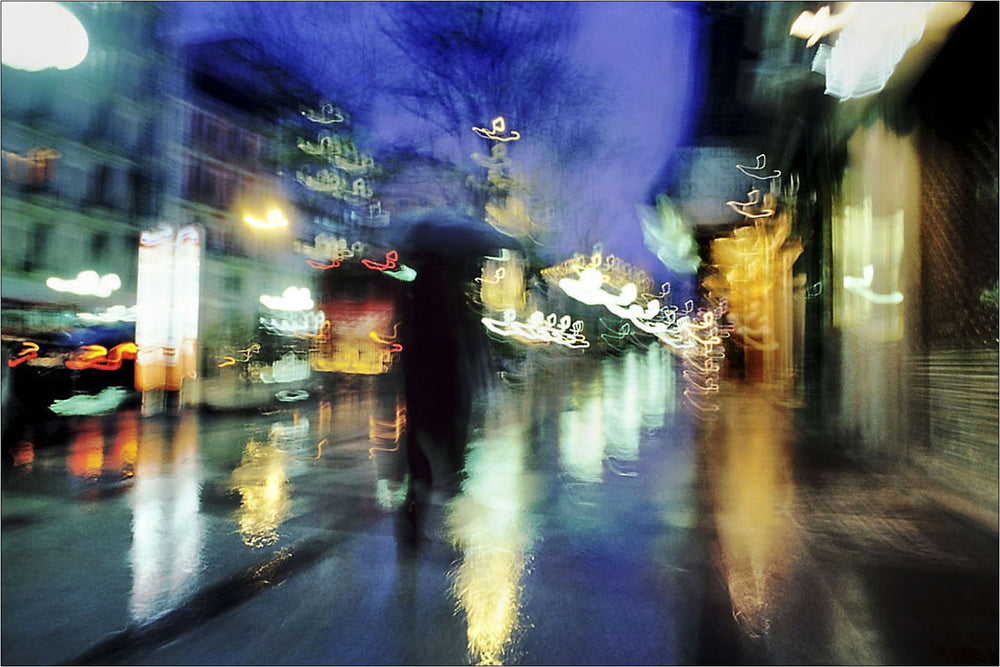 Rain in Calle Alcala, Madrid, Spain. | Limited Edition Print.