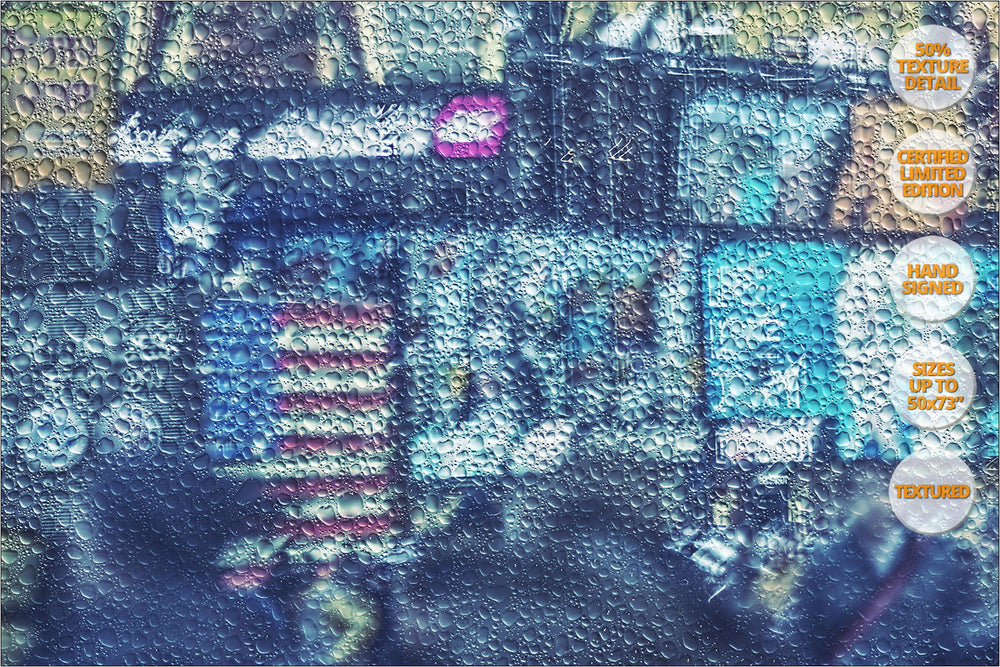 Times Square, NYC. [2/3] | 50% Texture Detail View.