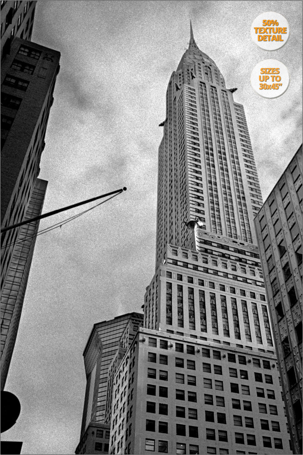 Chrysler Bdg, New York. | By Alberto Mateo, FIne Art Photographer.