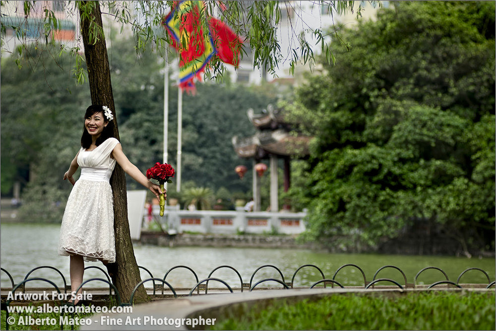 Wedding Album, Hanoi, Vietnam. | Unlimited Edition Fine Art Print.