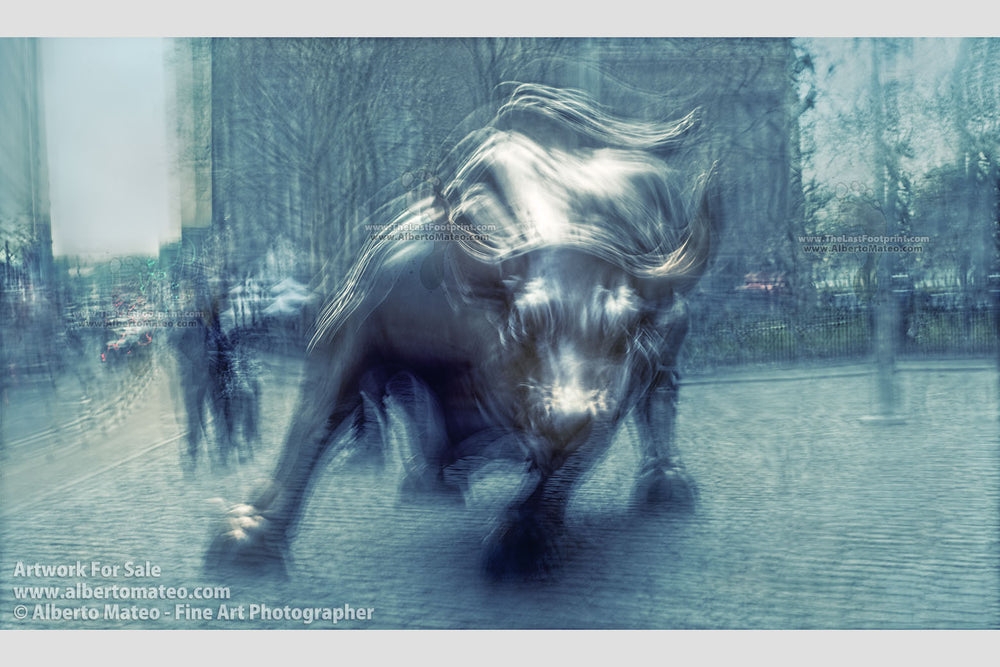 The Bull, Wall Street, New York. | Limited Edition Fine Art Print. | Available as Giant Print.