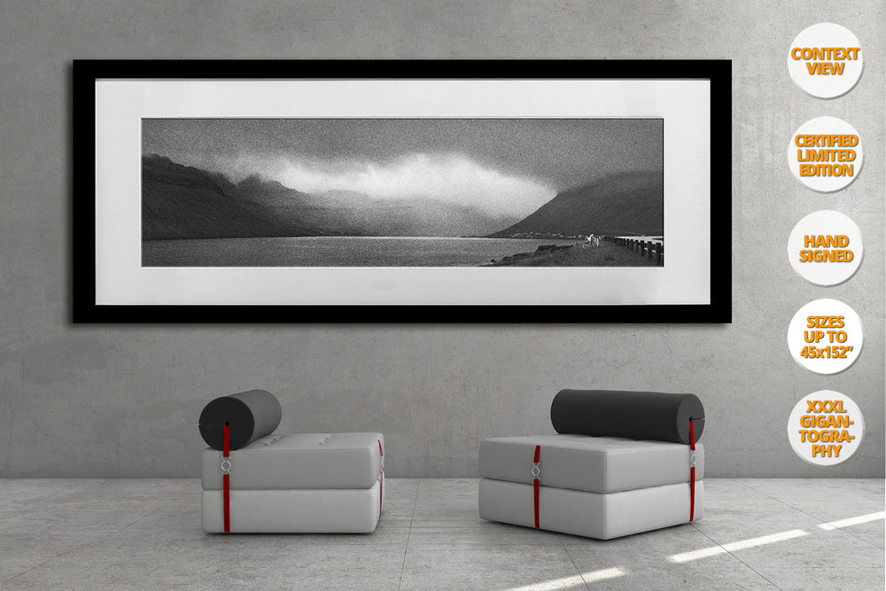 The White Horse, Faroe Islands. | Giant Print hanged in office.