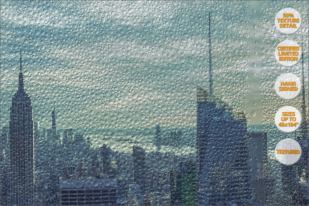 Manhattan Giant Panorama, New York. | 50% Magnification Detail.