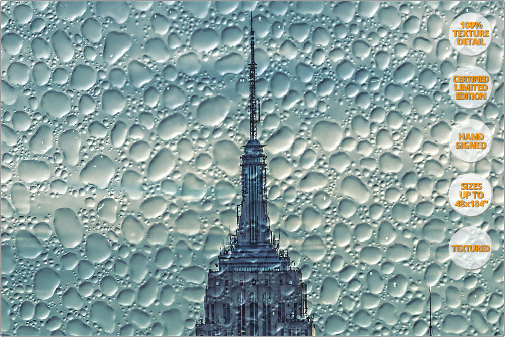 Manhattan Giant Panorama, New York. | 100% Magnification Texture Detail.