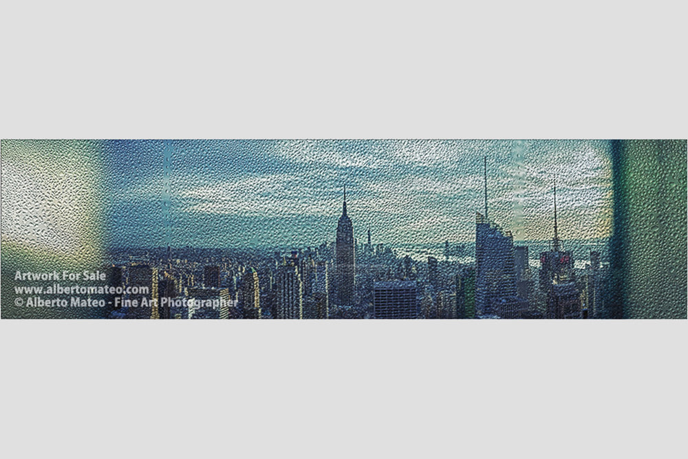 Manhattan Giant Panorama, New York. | Limited Edition Print.