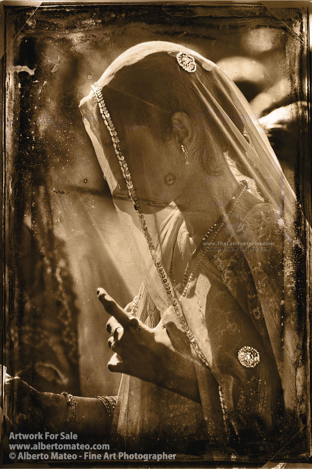 Rajastani Woman, Rajastan, India. [1/5] | Limited Edition Fine Art Print.