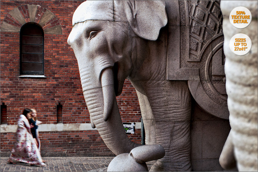 Elephant Gate, Copenhague, Denmark. | Detail at 50%.