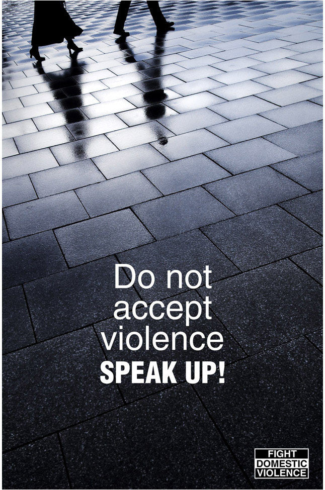 Advertising Campaign against violence.