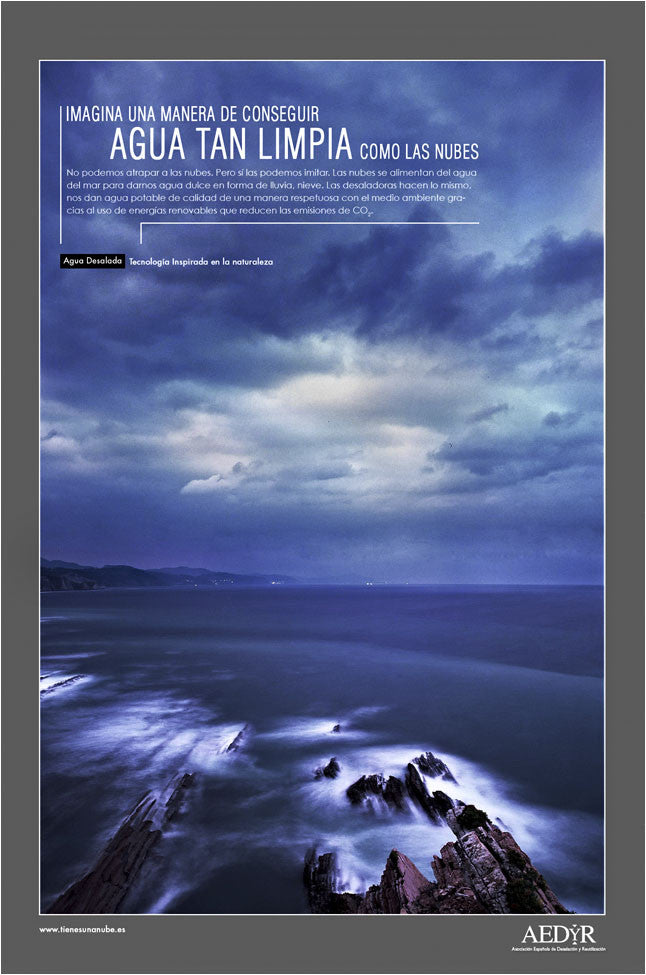 Advertising Campaign, 'Aedyr', Spain. Zumaia Coastline.