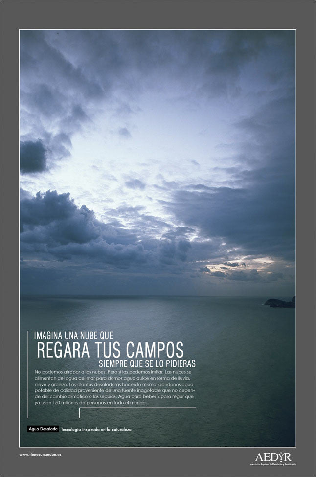 Sunrise in High Sea. | Advertising Campaign, 'Aedyr', Spain.