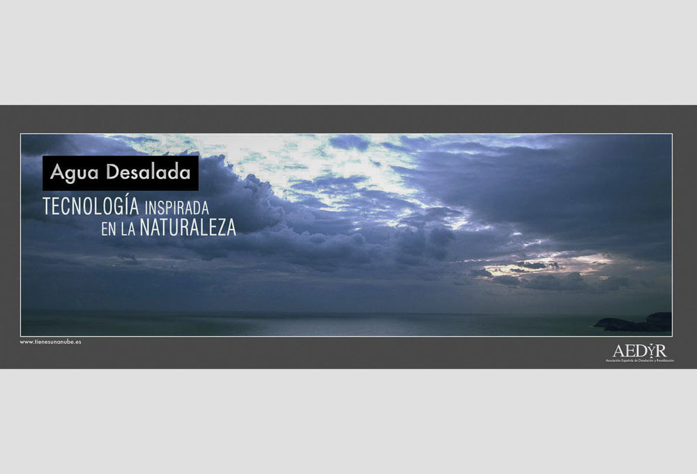 Cloudscape. | Advertising Campaign, 'Aedyr', Spain.