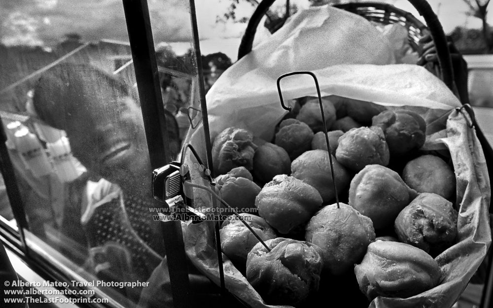 The smile of a Street seller, Zomba, Malawi. | Black and White Original Fine Art Print.
