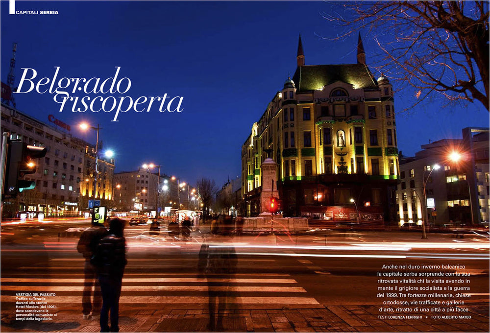Editorial Reportage about Belgrade, by Alberto Mateo.