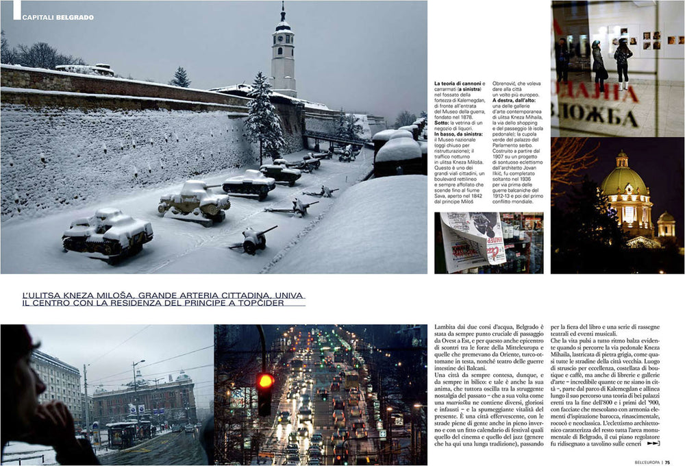 Editorial Reportage about Belgrade. | Alberto Mateo, Travel Photographer.