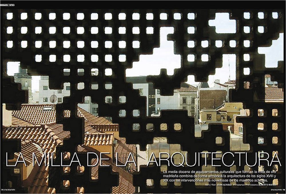 Architecture Mile, for Ronda Iberia. Alberto Mateo.