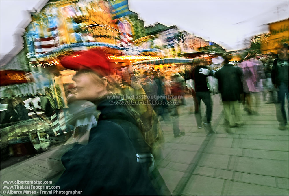 Hamburg Christmas Market. | Limited Edition Fine Art Print.