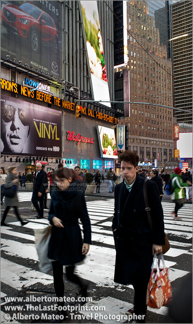 Neons in Times Square, Manhattan, New York. | Open Edition Print.