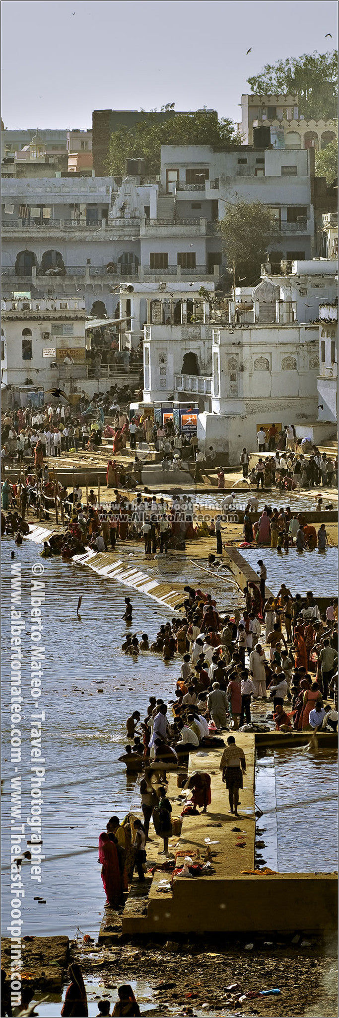Lake of Pushkar, Pushkar, India. | Original Fine Art Print.