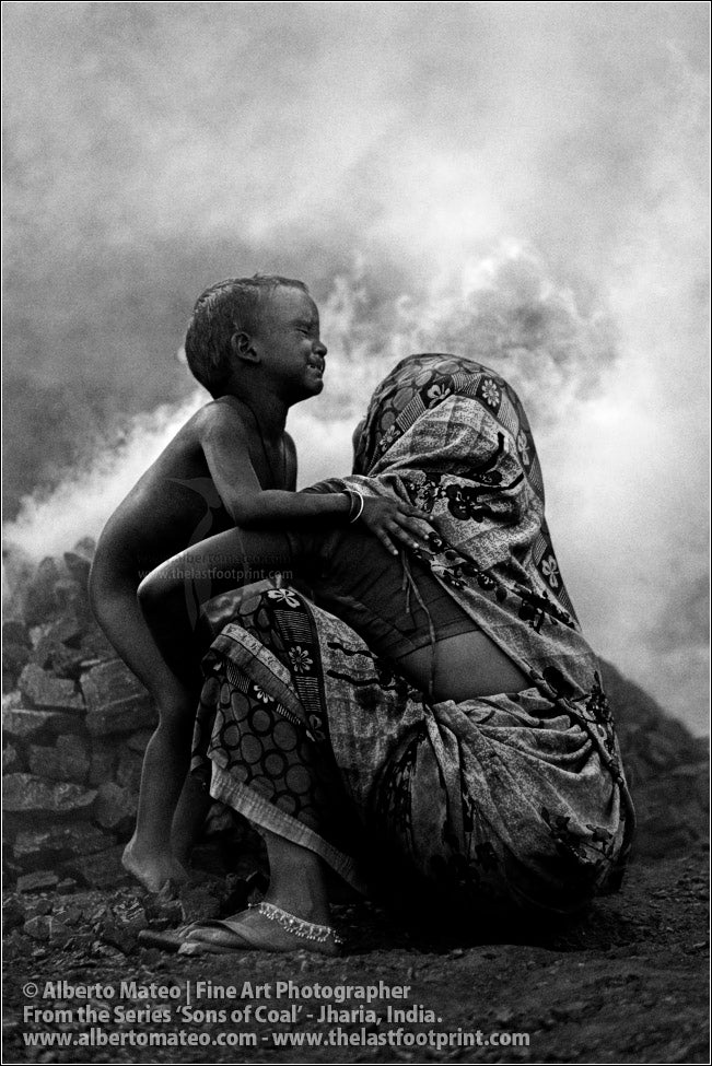 Woman with Crying Child, Sons of Coal Series.