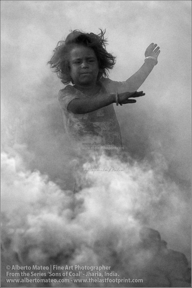 Child Dancing in Coal Smoke 2/4, Sons of Coal Series.