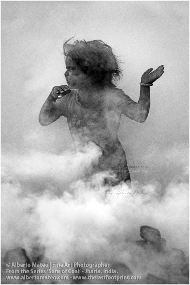 Child Dancing in Coal Smoke 4/4, Sons of Coal Series.