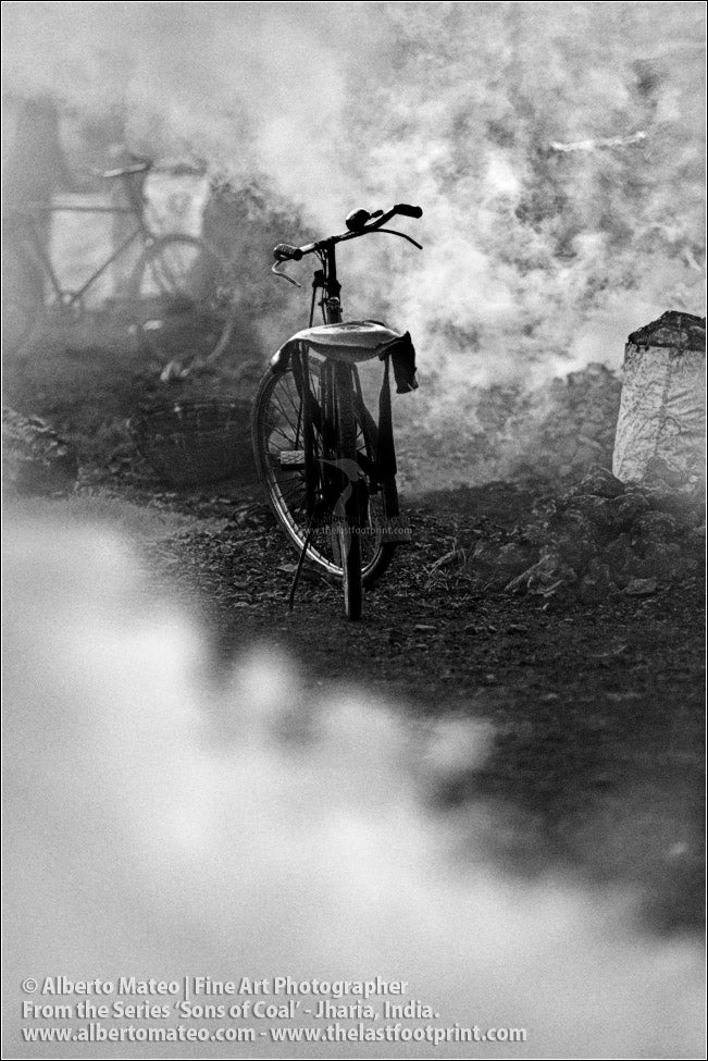 Bike in smoke, Sons of Coal Series.