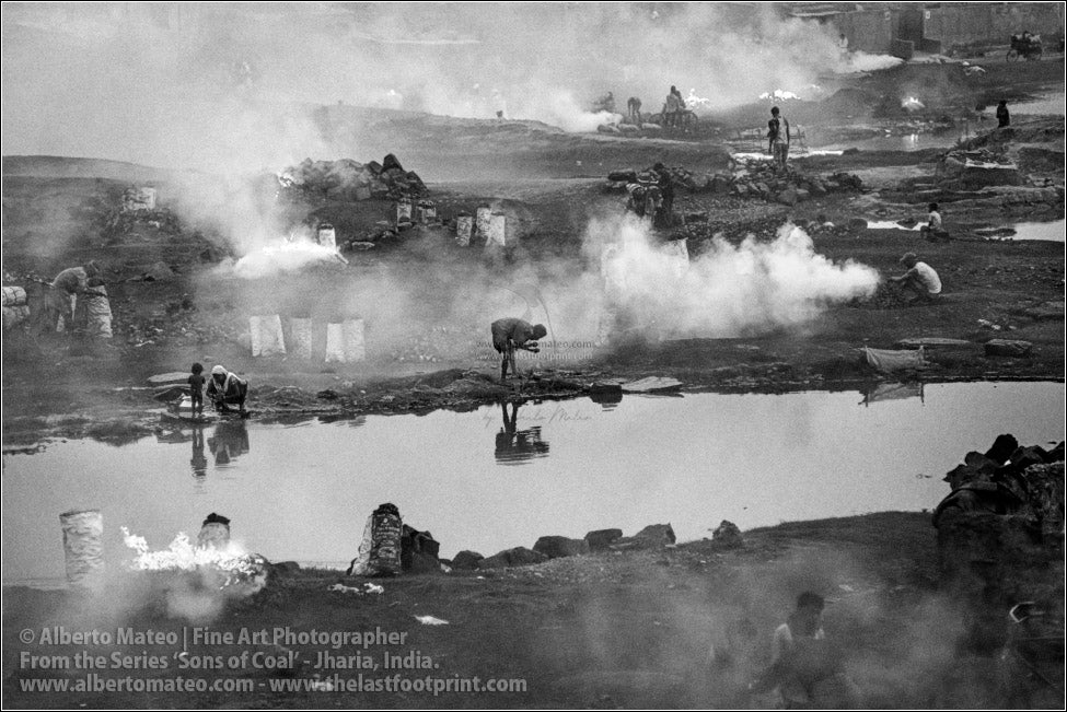 Pond in Coal Fields, Sons of Coal Series.