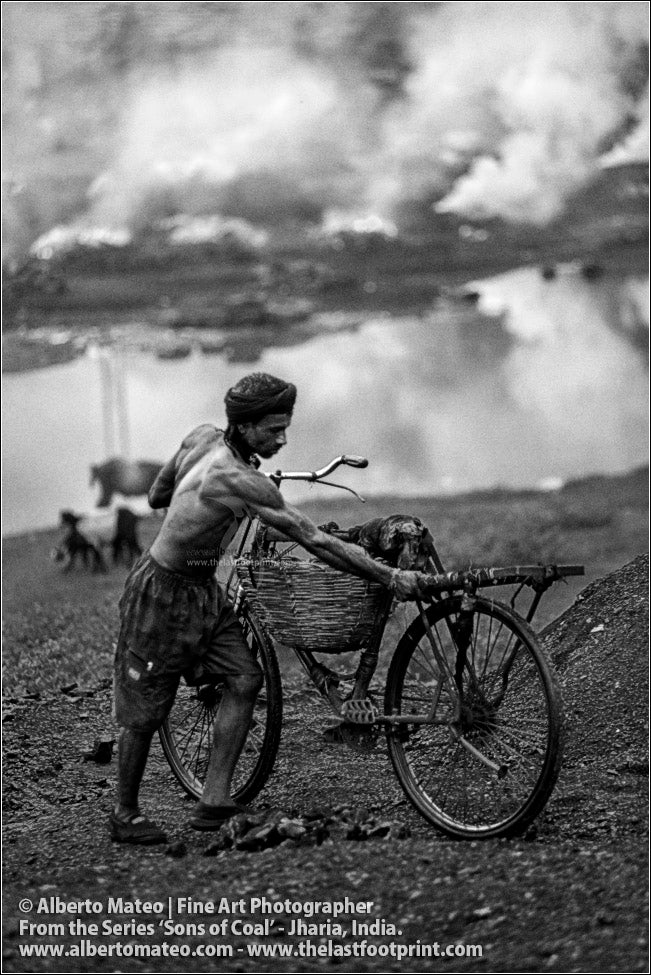 Man with Bicycle, Sons of Coal Series.