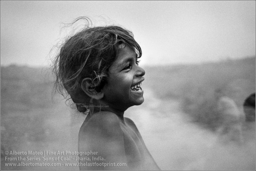 Laughing Small Girl, Sons of Coal Series.