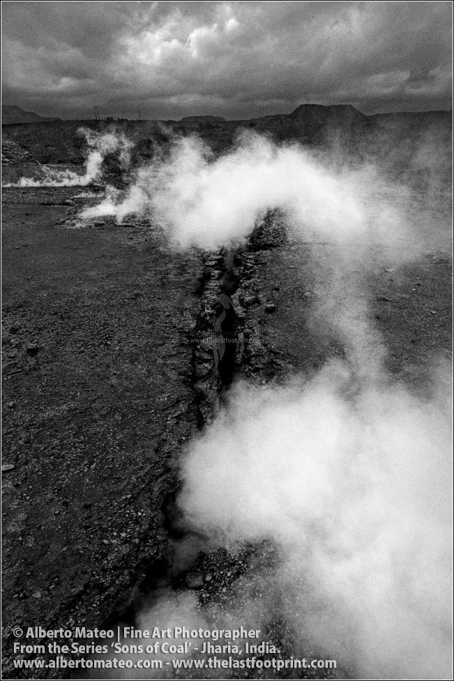 Coal burning under the Earth Surface, Sons of Coal Series.