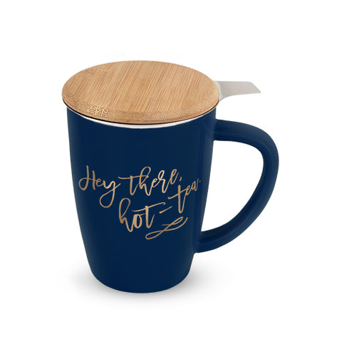 Hey there hot-tea Mug - Olipikapa