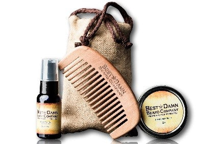 Best Damn Beard Combo Kit - Olipikapa