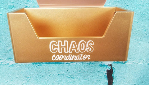Chaos Coordinator Card Holder - Gold - Olipikapa