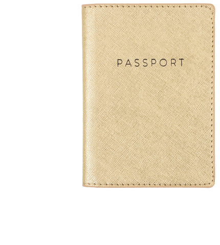 Golden Baby! Passport Case - Olipikapa