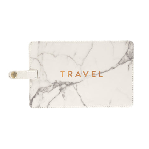 Travel Jumbo Luggage Tag - Marble - Olipikapa