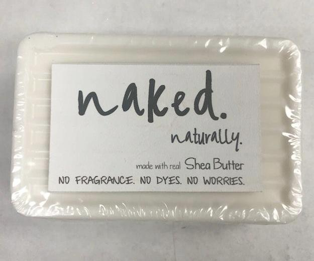 Naked Naturally Soap – Shea Butter - Olipikapa